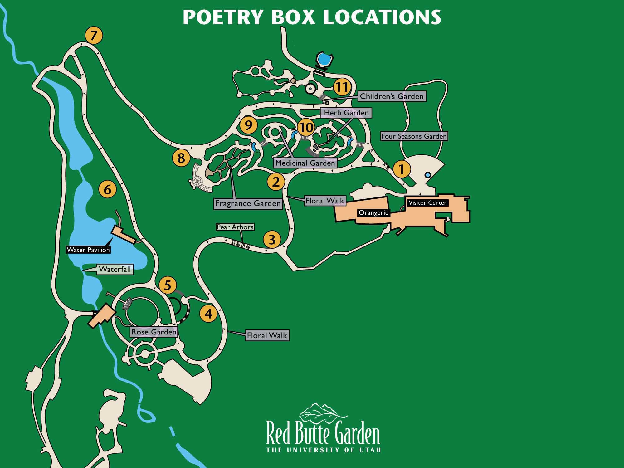 Poetry Box Locations